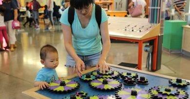 Einfache Anweisungen durch die Eltern, kann guide children ' s discovery