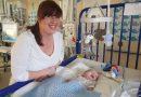 Die Messung Blutchemie Ebenen durch die Haut von Neugeborenen